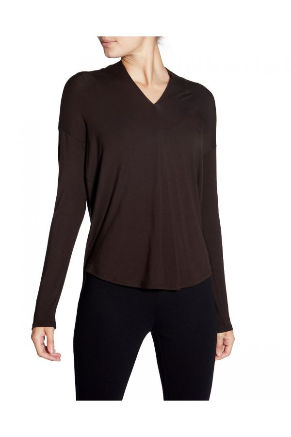 UP Womens Top 30170-Espresso/Brown-XS