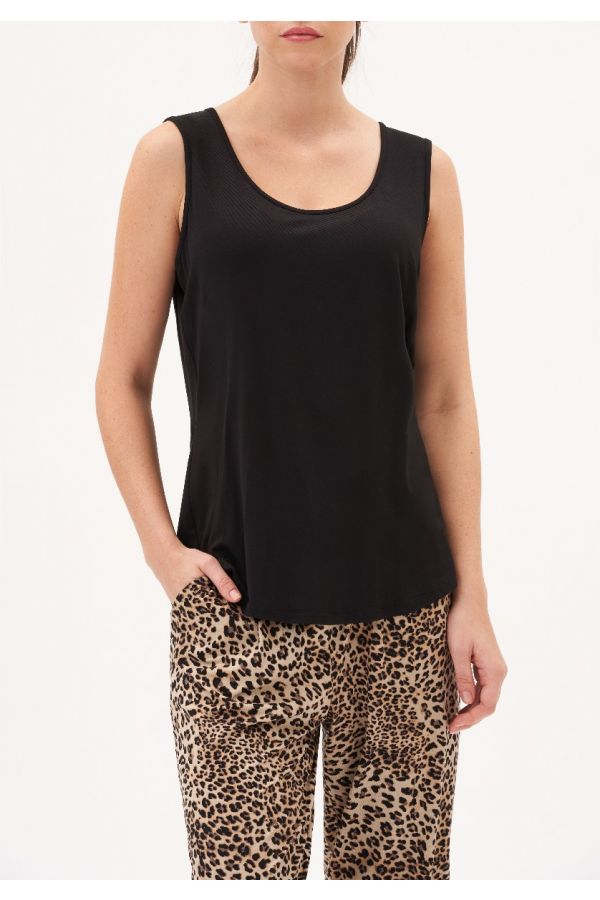 UP Womens Top 30188-Black-S