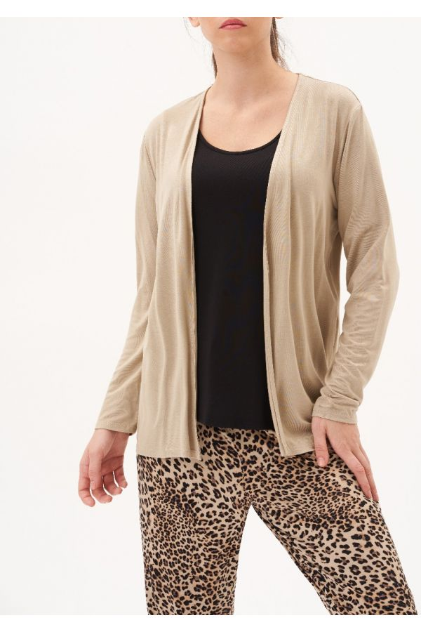 UP Womens Top 30189-Beige/Champagne-S