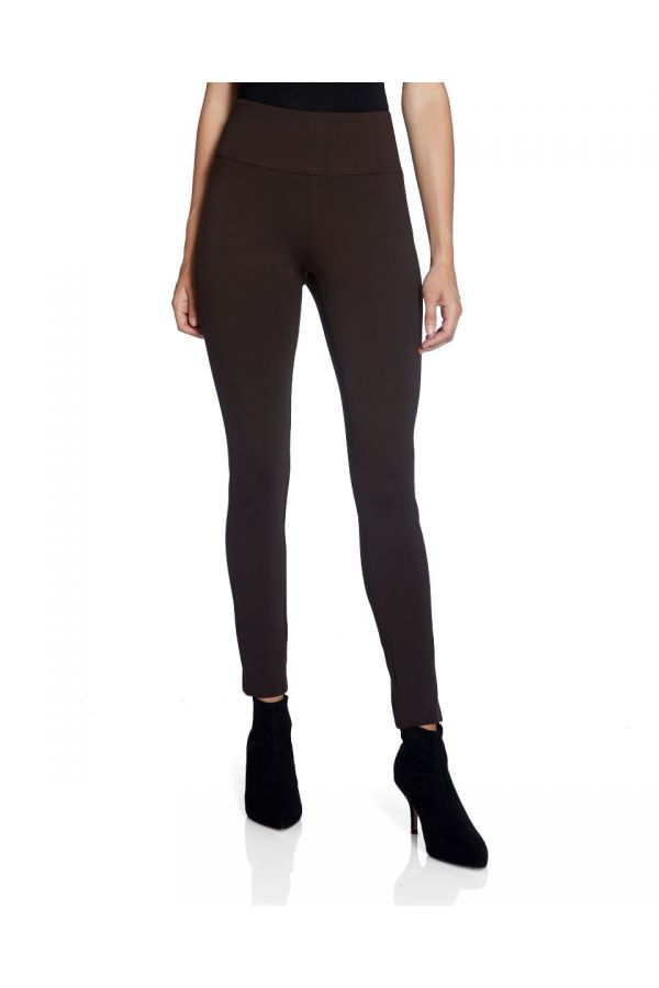 "UP Womens Super Skinny 28"" Pants 66024-Espresso/Brown-2"