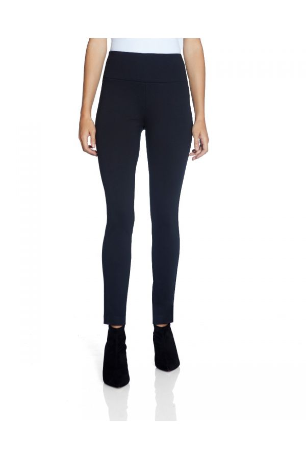 "UP Womens Super Skinny 28"" Pants 66024-Navy/Midnight Blue-0"