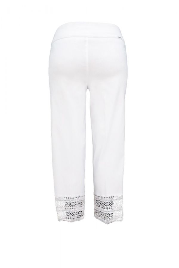 "UP Womens Techno 25"" Crops 66681-White-0"
