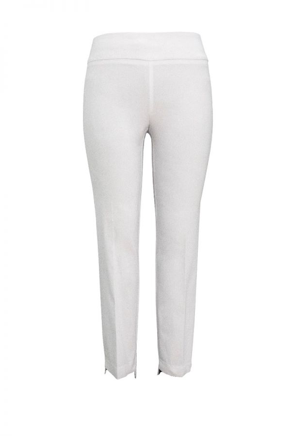 "UP Womens Techno Slim Leg Ankle 28"" Pants 66851-White-0"