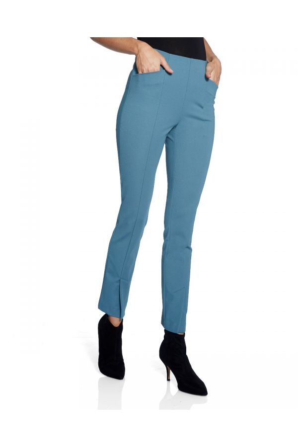 """UP Womens Front Vent 28"""" Pants 67054-Blue Stone/Steel Blue-2"""