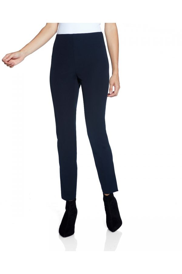 "UP Womens Slim Side Vent 28"" Pants 67067-Navy/Midnight Blue-4"