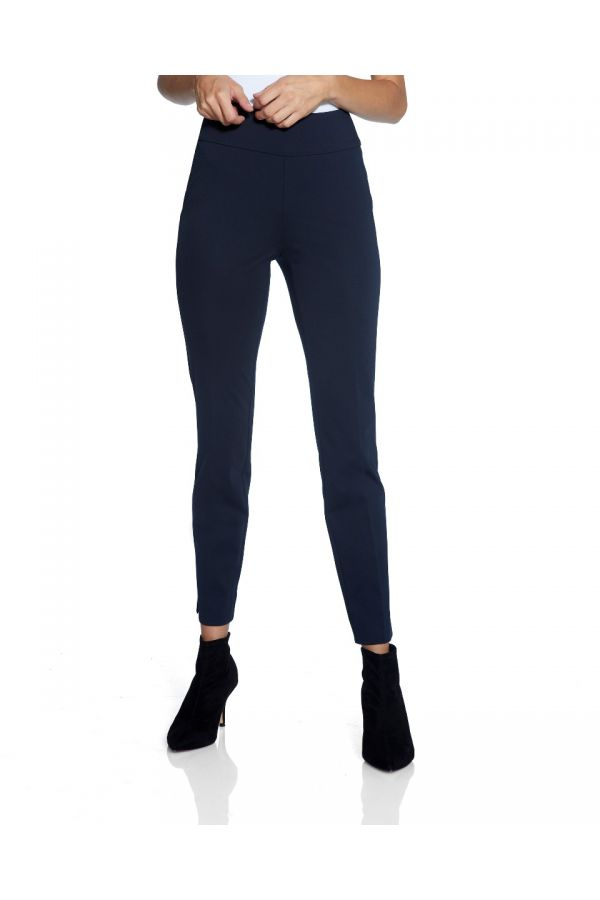 "UP Womens Roma Slim 28"" Pants 67085-Navy/Midnight Blue-0"