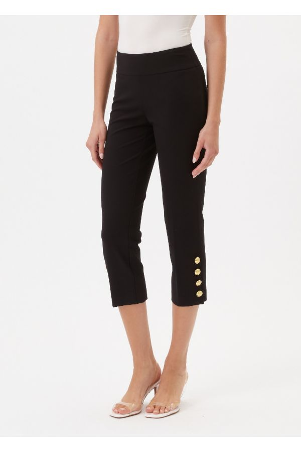 """UP Womens Luxury Collection 25"""" Pants 67250-Black-0"""