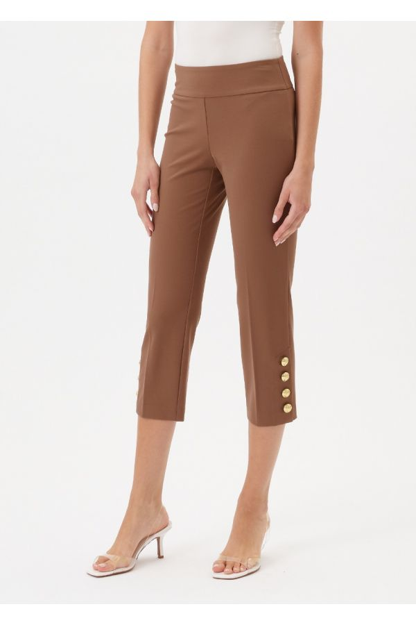 """UP Womens Luxury Collection 25"""" Pants 67250-Camel/Tan-0"""