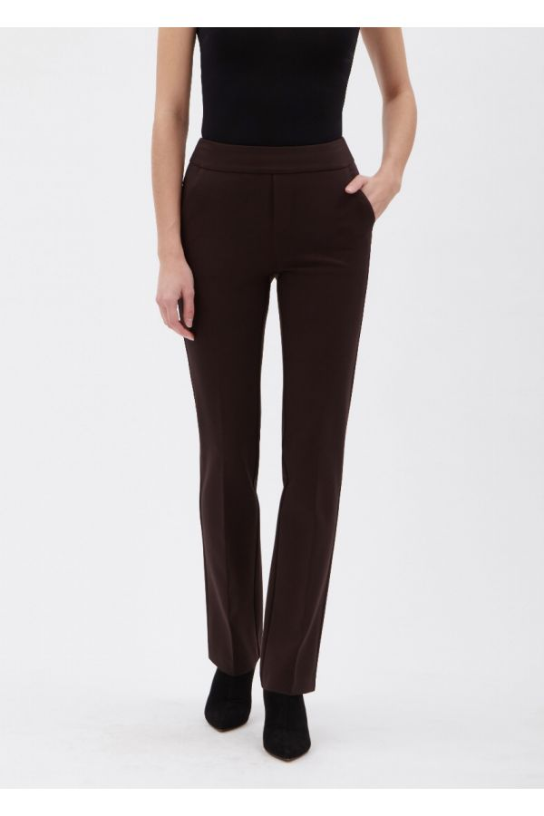 """UP Womens Luxury Collection 33"""" Pants 67376-Espresso/Brown-0"""