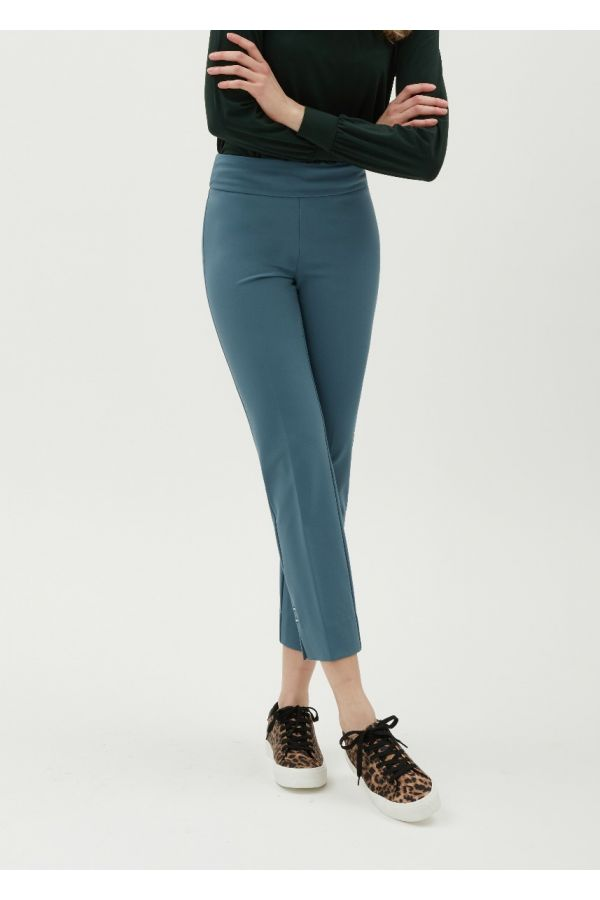 """UP Womens Luxury Collection 28"""" Pants 67378-Blue Stone/Steel Blue-0"""