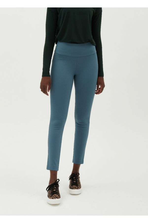 """UP Womens Luxury Compression 28"""" Pants 67391-Blue Stone/Steel Blue-4"""