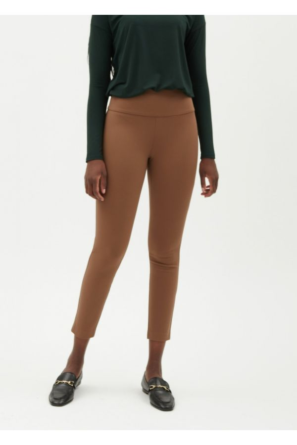 """UP Womens Luxury Compression 28"""" Pants 67391-Camel/Tan-2"""